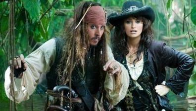 Penelope Cruz s-a usurat in mare la filmarile pentru  Piratii din Caraibe