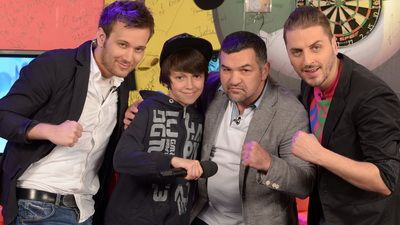 Cosmin Agache l-a facut KO la (beat)box pe Leonard Doroftei! VIDEOsi FOTO