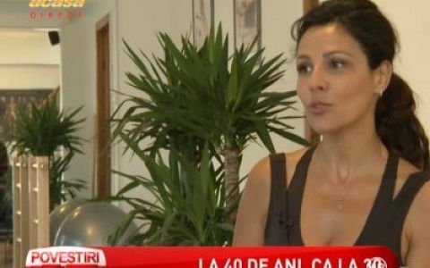 Oana Cuzino:  Mi se par fascinante operatiile estetice  - VIDEO