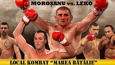 Visul lui Morosanu s-a implinit! Leko a vazut MOARTEA in Carpati! Morosanu l-a batut pe super campionul K1! VIDEO