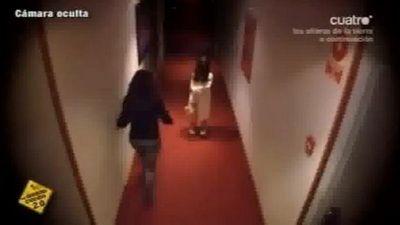 O fetita baga spaima in clientii unui hotel! Vezi cum a reusit! VIDEO