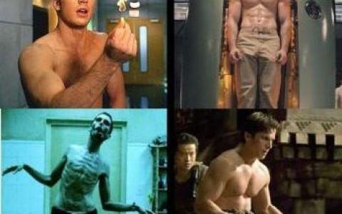 hollywood transformări în greutate