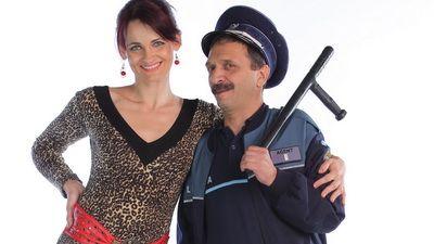 Un cuplu plin de umor in  Pariu cu viata : Elvira Deatcu si Radu Gabriel FOTO