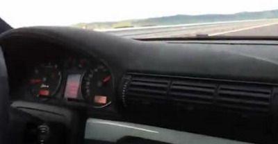A mers cu 300 km/h pe Autostrada Transilvania! VIDEO