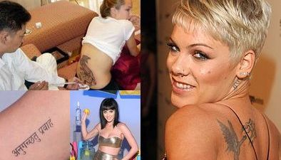 Top cele mai penibile tatuaje de la Hollywood - GALERIE FOTO