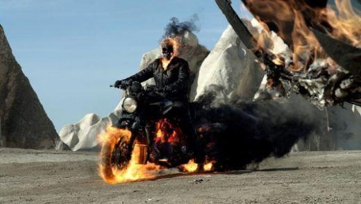 VIDEO Trailer spectaculos pentru Ghost Rider 2,  filmul pentru care Nicolas Cage a filmat in Romania