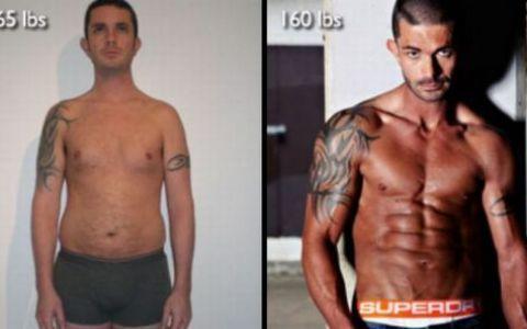 FOTO INCREDIBIL! Aveau peste 100 de kg si s-au transformat in timp RECORD in super campioni la bodybuilding