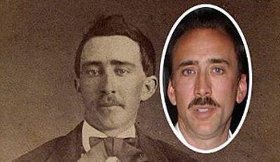 Nicolas Cage, vampir? Un barbat sustine ca o poza veche de 140 de ani demonstreaza ca actorul e vampir. FOTO
