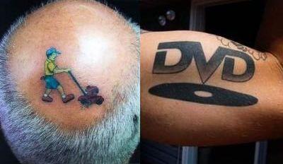 ASTEA sunt cele mai urate tatuaje din lume! GALERIE FOTO