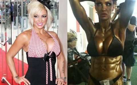 FOTO. De la fotomodel super sexy, la campioana de bodybuilding! Vezi transformarea incredibila a unei femei