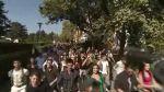 Flashmob in Pariu cu viata
