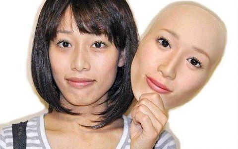 Japonezii au inventat masca 3D care arata EXACT ca fata ta! FOTO