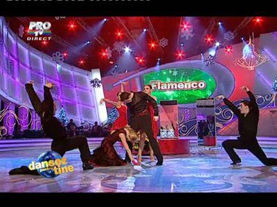 Catrinel Sandu a zburat la Dansez pentru tine! Vezi cum a dansat flamenco alaturi de Ionut Ionescu