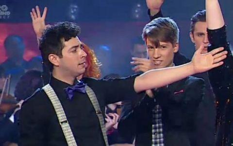 Cristian Sanda a cantat cel mai nou hit al lui Moga:  Tot mai sus . Ce reactie a avut publicul: