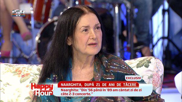 Naarghita:  In acesti 23 de ani, am fost foarte bolnava de o boala sufleteasca.