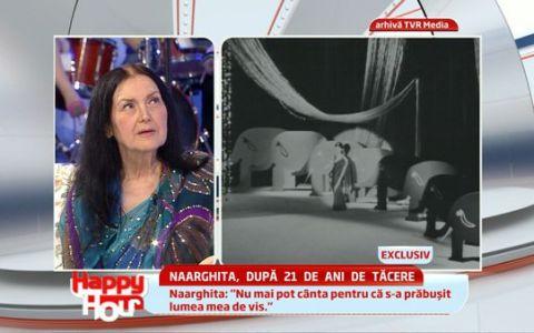 Am avut 3000 de sari-uri, acum mai detin doar 70  a declarat Naarghita.