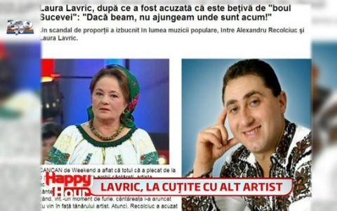 Laura Lavric se cearta cu un alt artist de muzica populara!
