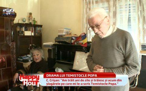 Drama lui Temistocle Popa. La 91 de ani, celebrul compozitor risca sa ajunga in strada: VIDEO