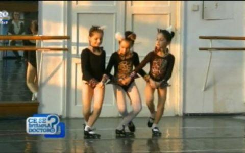 Ai o fetita si nu stii la ce sport sa o dai? Vezi de ce baletul ar putea sa fie una dintre solutii