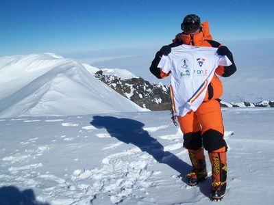 Prima femeie care a escaladat cel mai inalt vulcan din Antarctica este romanca! Crina Coco Popescu a intrat icirc;n Cartea Recordurilor