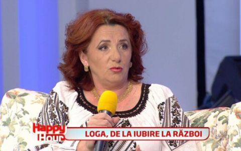 Maria Loga:  M-am casatorit cu Magureanu ca sa ma razbun pe primul sot, sa ii arat ca imi pot lua un barbat cu 7 ani mai tanar
