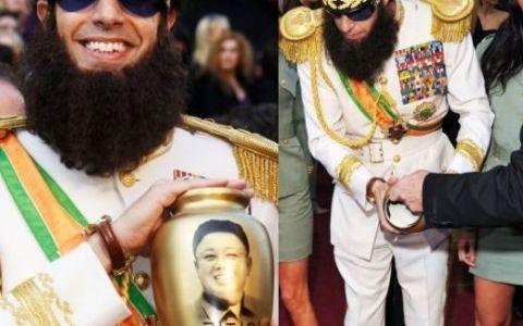 Gestul socant al lui Borat - Sacha Baron Cohen. Actorul a fost dat afara de pe covorul rosu de la Oscar