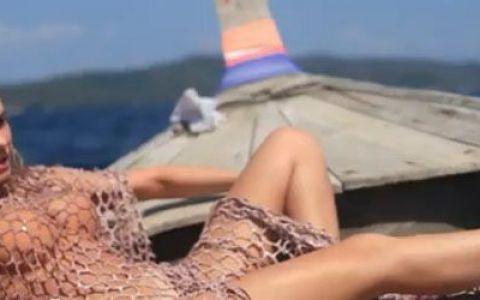 Anna Lesko, mai sexy decat prevede legea, in Tailanda. Ce a facut-o sa exclame:  Ah, ah!