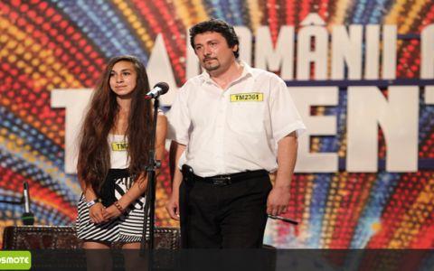 O noua Andra, descoperita la  Romanii au talent . EA e fata de 15 ani, cu voce INCREDIBILA, in care juratii au regasit-o pe artista. VIDEO