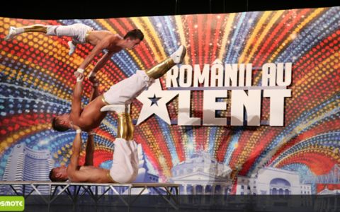 Un moment  OAU  de acrobatie, la  Romanii au talent : X-TREME BROTHERS. VIDEO
