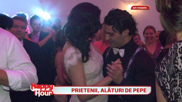 Imagini inedite de la nunta lui Pepe! Vezi cum s-au distrat invitatii si mirii la nunta anului