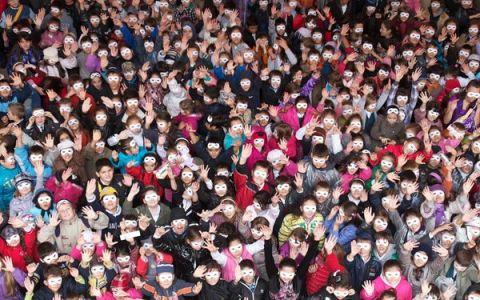 Fotografia cu cele mai multe zambete de copii: un nou RECORD pentru Romania: FOTO