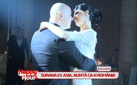 Sorana, ex-ASIA, a cazut pe ringul de dans, la propria ei nunta! Vezi cum a reactionat: IMAGINI EXCLUSIVE