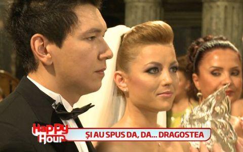 Elena Gheorghe, o mamica si o mireasa fericita. Si-a botezat baietelul, apoi a spus DA in fata altarului. VIDEO