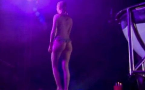 Diana Dumitrescu, o sirena SUPER SEXY pe scena circului. Ce a aratat incat toti au aplaudat-o. VIDEO