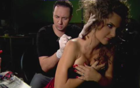 Cat Andra e plecata cu caravana Romanii au Talent, Maruta se uita dupa blonda asta SEXY! VIDEO