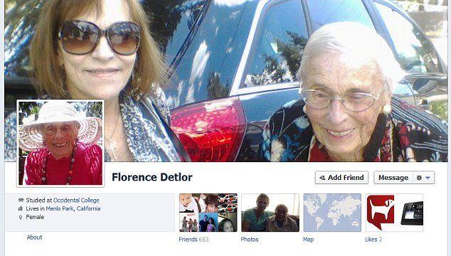 O bunicuta de 101 ani, cel mai in varsta utilizator de Facebook. Afla ce posteaza si cati prieteni virtuali are: FOTO
