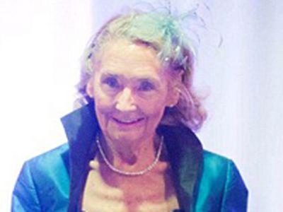 Nu a mai facut asta din anii  40. E model la 80 de ani: Povestea bunicii care defileaza pe podium. FOTO