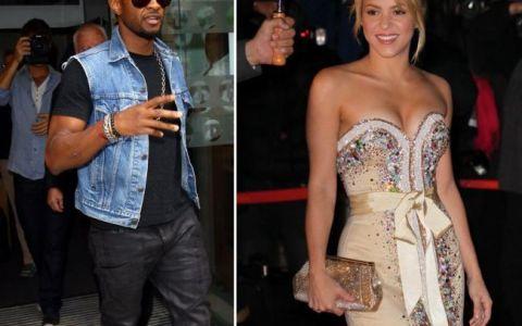 Shakira dating usher