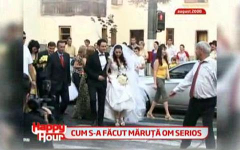 Iti mai aduci aminte cum a fost la nunta lui Maruta cu Andra? Vezi VIDEO cu cele mai frumoase momente de la petrecerea celor doi: