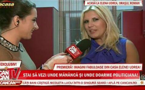 VIDEO: Elena Udrea isi arata casa! Vezi imaginile fabuloase din casa celei mai faimoase femei din politica din Romania