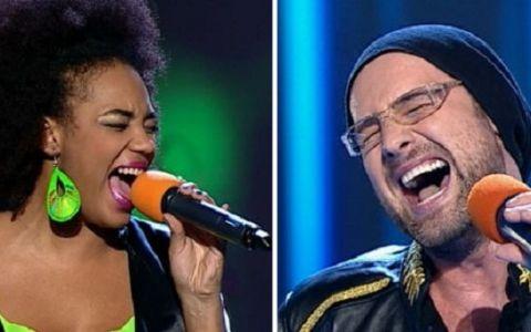 Julie Mayaya si Tibi Scobiola, preferatii publicului in a treia editie live de  Vocea Romaniei . Ce concurenti au parasit competitia