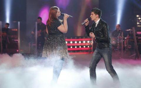 Un moment de  acrobatie  vocala: Fely Donose si Cristian Sanda, doua voci fabuloase ale Romaniei