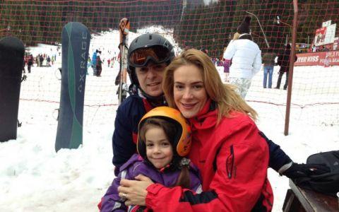 Roxana Ciuhulescu si-a petrecut prima vacanta de iarna din ultimii 13 ani in Romania