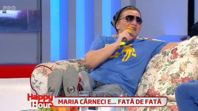 Maria Carneci, de la muzica populara la hip hop. Cum a cantat hitul lui Maximilian,  E sofisticata, ma : VIDEO
