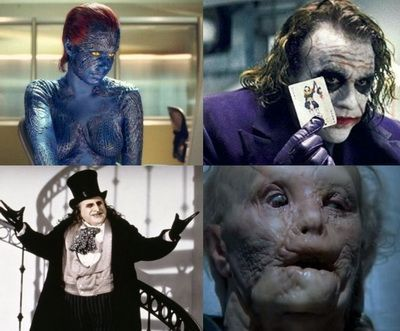 Cele mai bune 50 de transformari in filme cu ajutorul machiajului: actori celebri ascunsi de make-up in spatele personajelor
