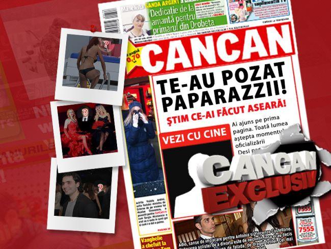 Paparazzii sunt cu ochii pe tine. Intra pe pagina de Facebook Cancan.ro sa vezi in ce ipostaze ai fost fotografiat