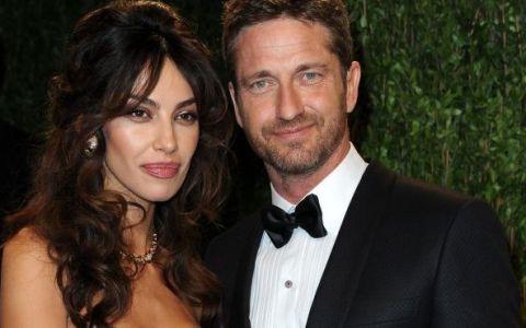 Madalina Ghenea si Gerard Butler, prima aparitie publica in calitate de cuplu, la Hollywood, la petrecerea Oscarurilor: FOTO