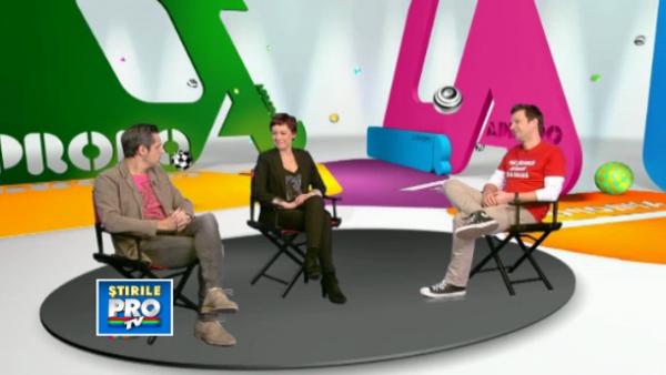 Romania care este, cu Stefan Banica si Mirela Oprisor