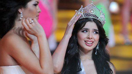 Miss Rusia 2013, in mijlocul unui scandal. Ce a umbrit bucuria frumoasei brunete, la doar cateva ore dupa ce a castigat ravnitul titlu