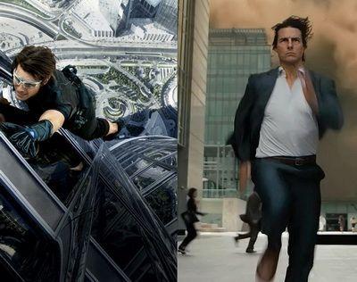 Cele mai tari cascadorii ale lui Tom Cruise in filme: 17 scene care iti taie respiratia